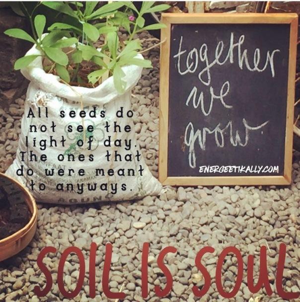 Soil is soul